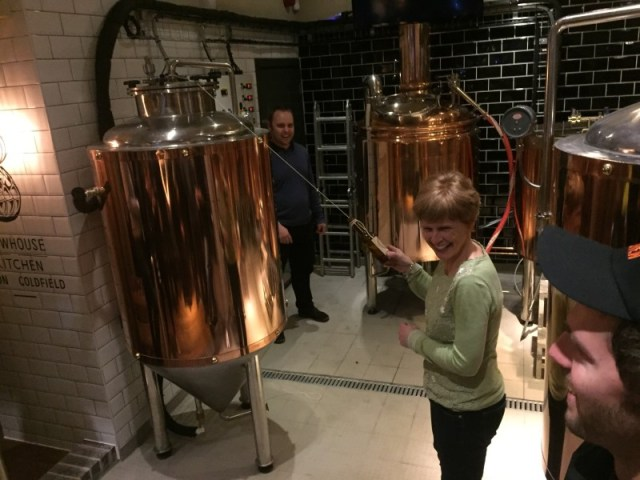 Jane Sixsmith at Brewhouse and Kitchen