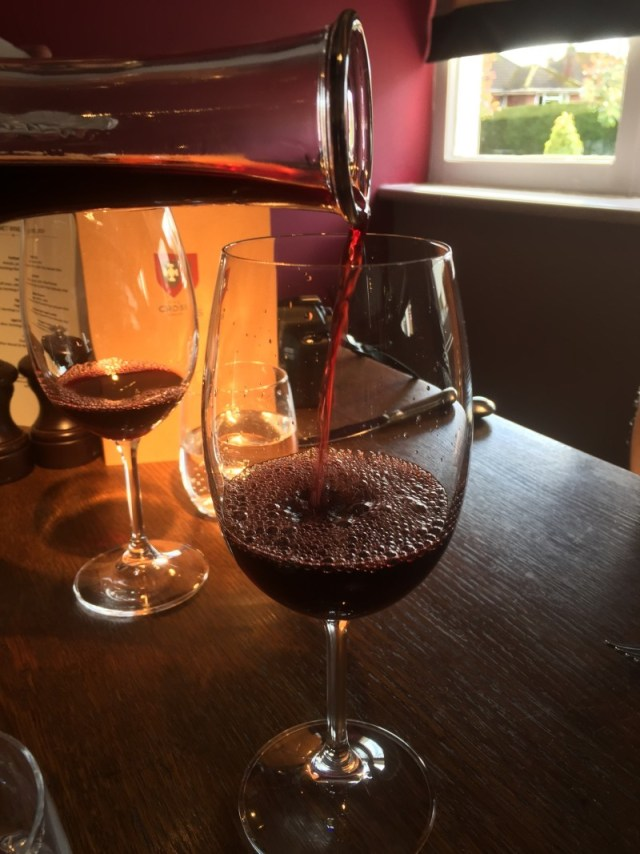 Jaboulet wine at The Cross, Kenilworth