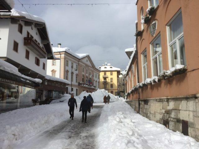 Corsa Italia, Cortina d'Ampezzo