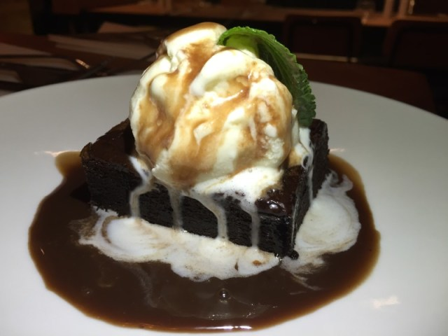 Brownie at Beefeater Bar + Block