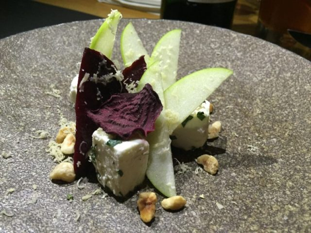 Rotisserie beetroot at The Coach, Marlow