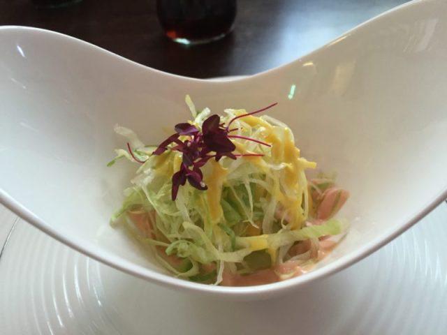 Salad at Modu, Birmingham