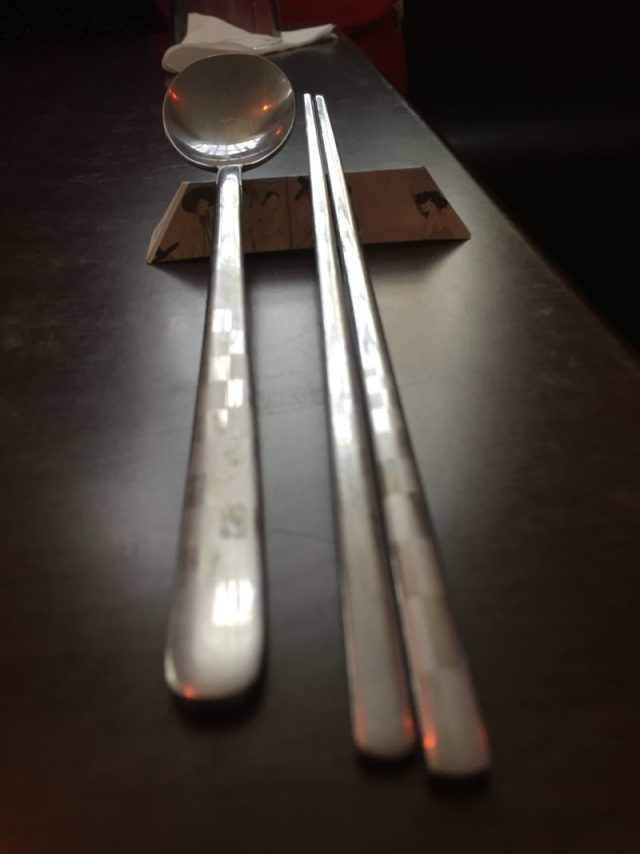Dining at Modu, Birmingham