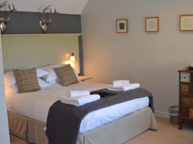 Bedroom at the Ragged Cot, Minchinhampton