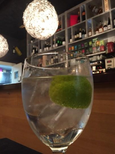 Gin & tonic at Nido in Bilbao