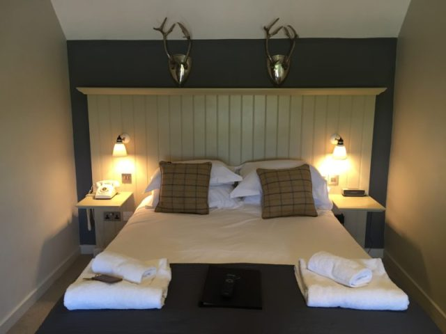 Bedroom at the Ragged Cot, Minchinhampton