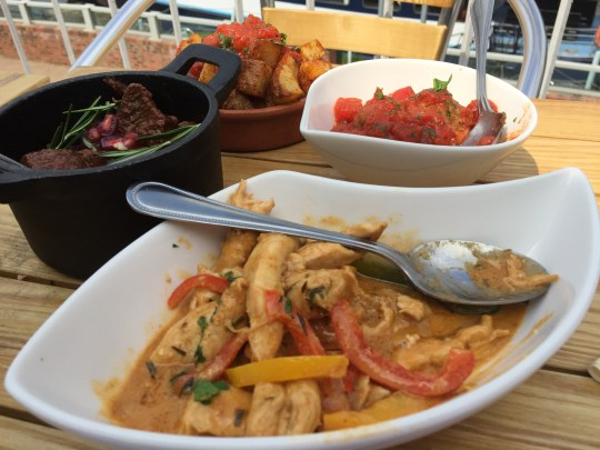 Tapas at The Boathouse, Upton-upon-Severn