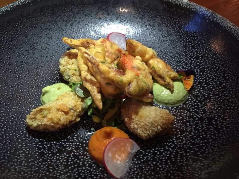 Softshell crab at Lasan, Birmingham