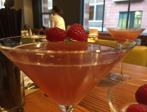French martini at All Bar One