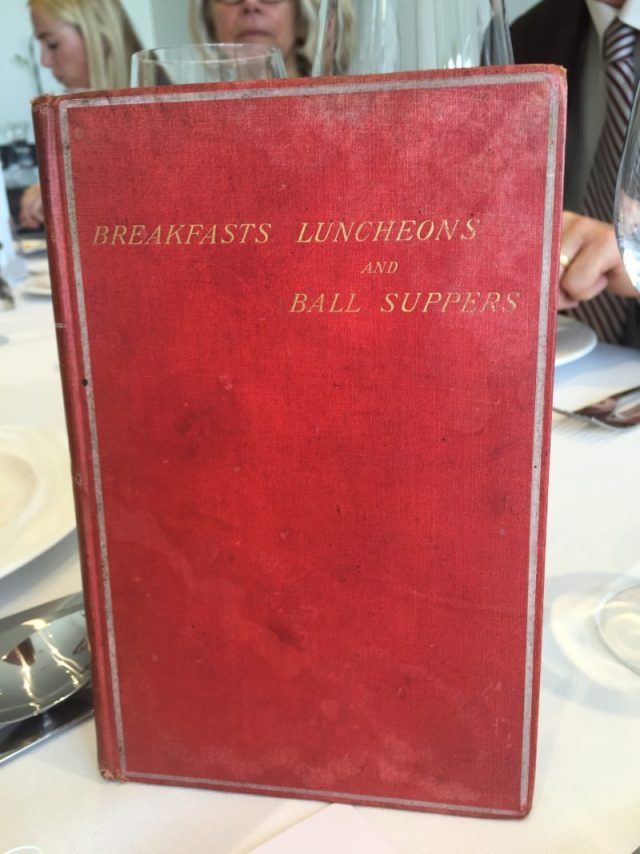 Major James Henry's Breakfasts, Luncheons and Ball Suppers
