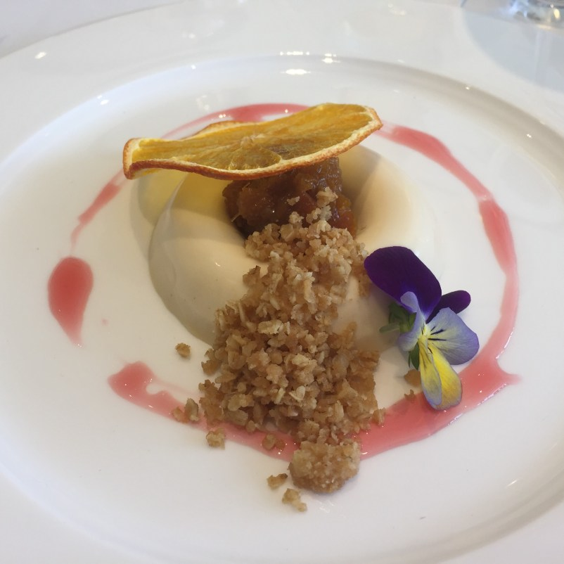 Earl grey bavrois at Goodwood
