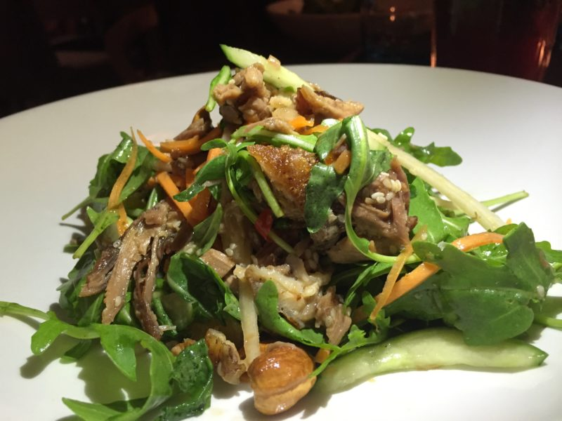 Duck salad at The Almanack, Kenilworth