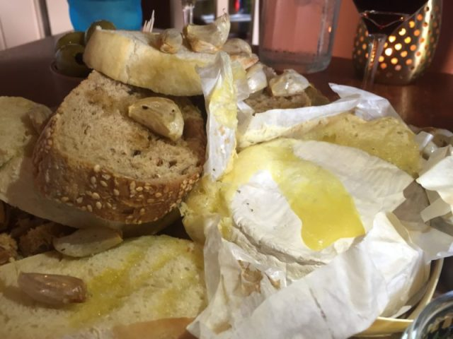 Baked camembert at the White Horse, Balsall Common