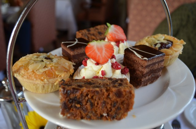 Afternoon tea at Billesley Manor