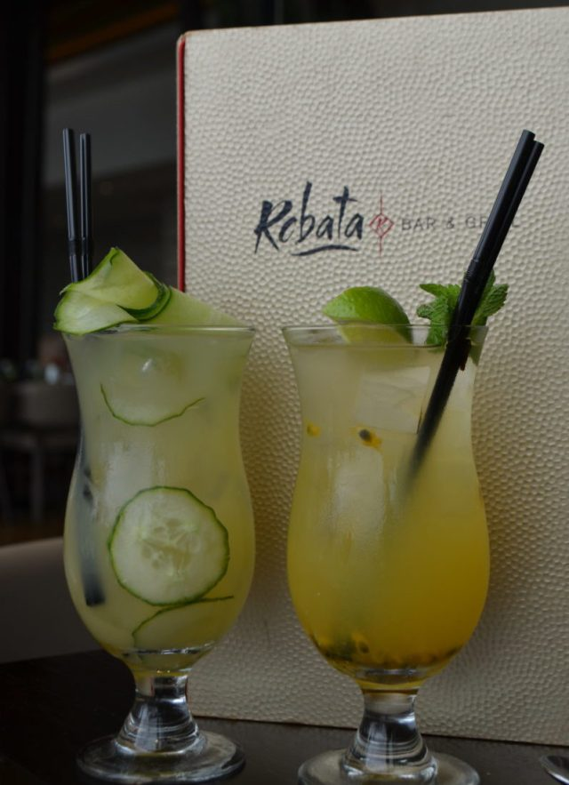 Cocktails at Robata, Resorts World