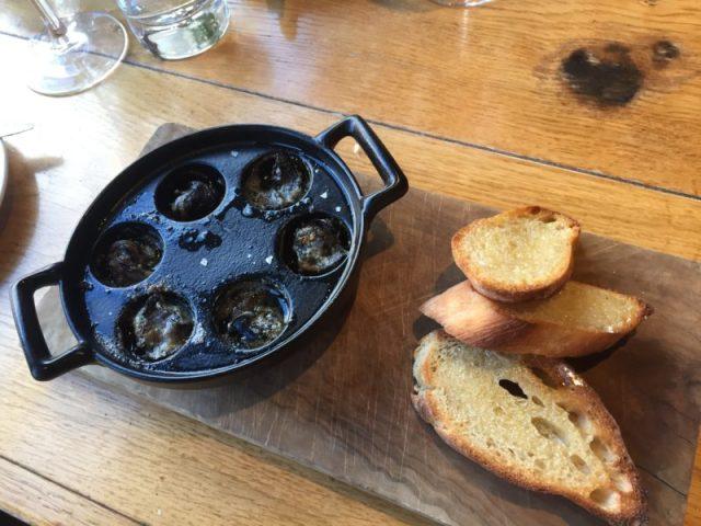 Snails at the Glassboat, Bristol