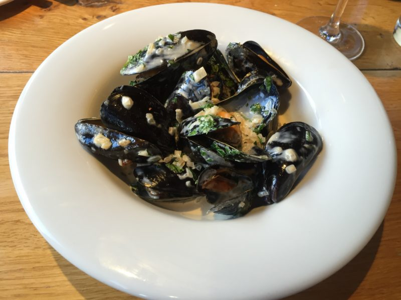 Mussels at the Glassboat, Bristol