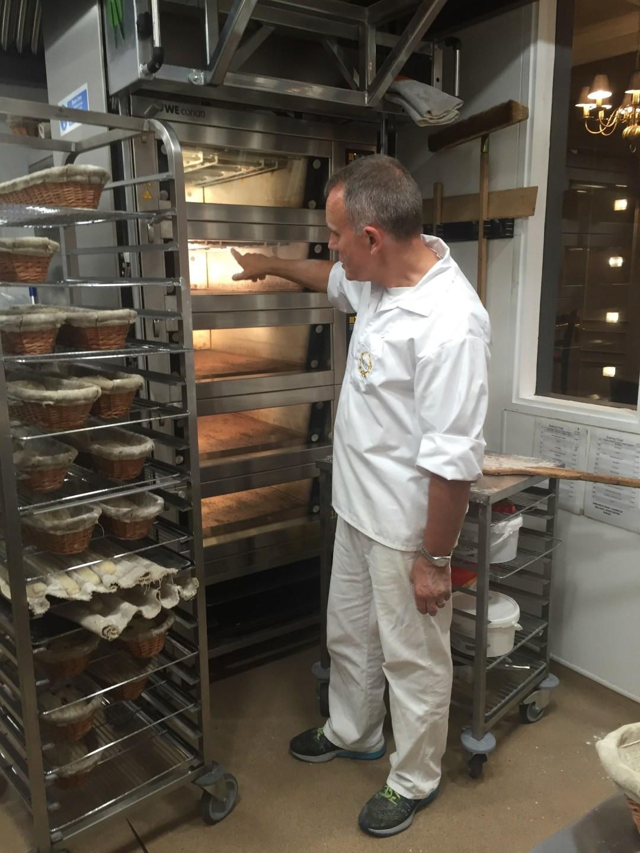 Baking bread with Paul Bakery