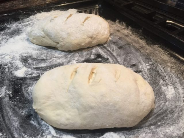 Making my own bread loaves with Paul Bakery