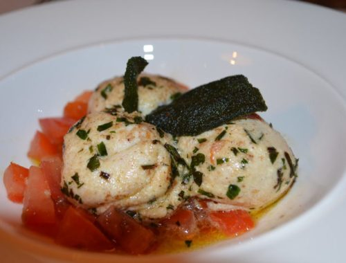 Gnudi at Gusto, Leamington Spa