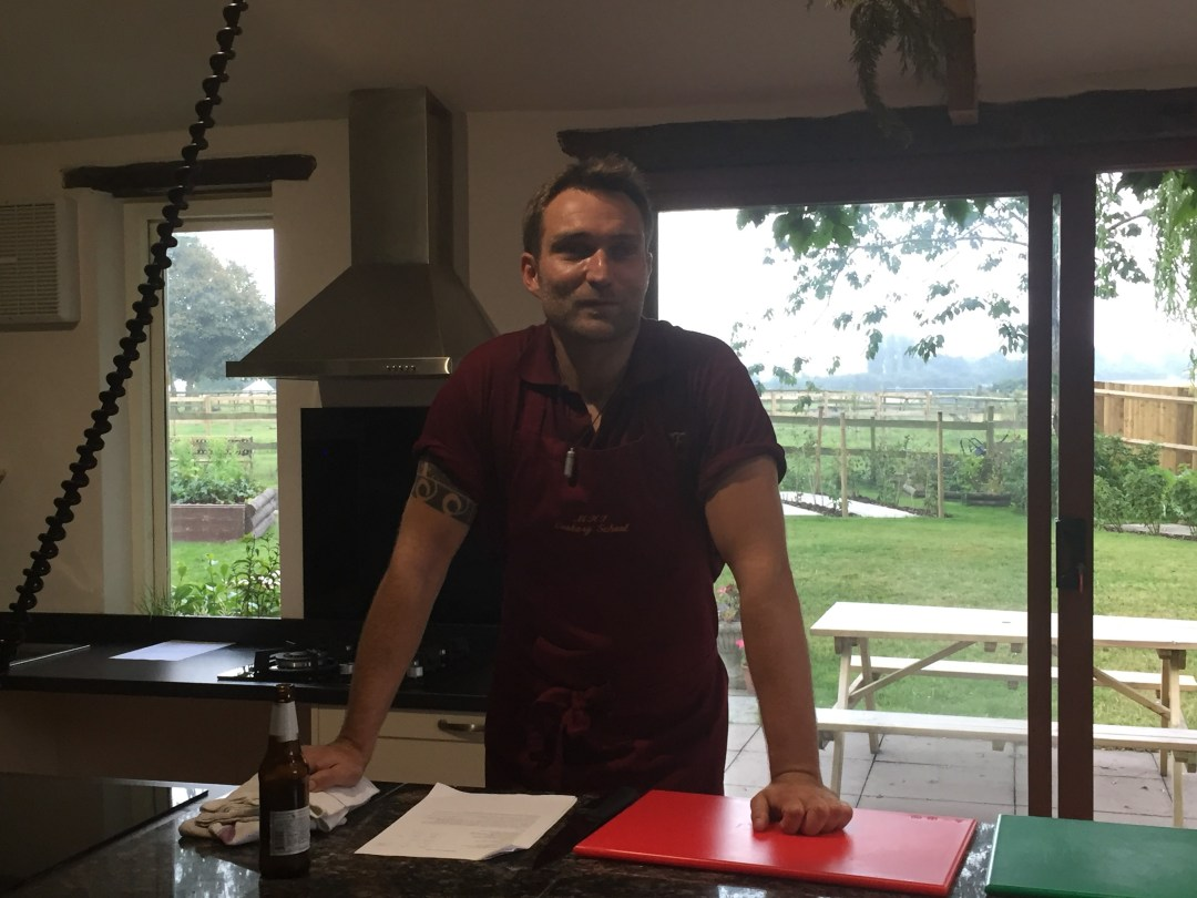 Nick Rowberry at Mousley House Farm Cookery School