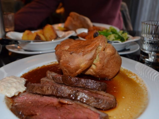 Sunday lunch at Malmaison, Birmingham