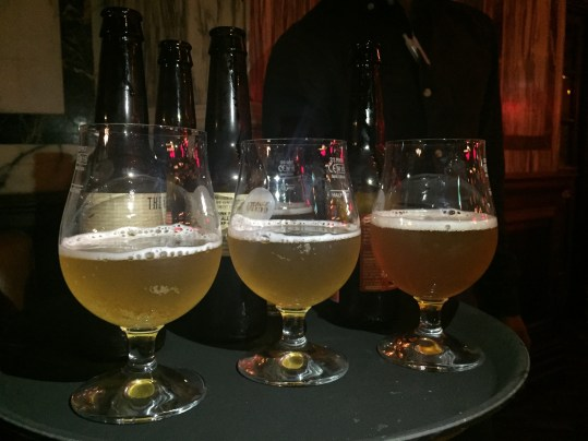Beer selection at Nosh & Quaff