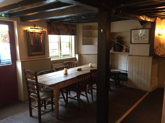 Inside the Fat Fox Inn, Watlington
