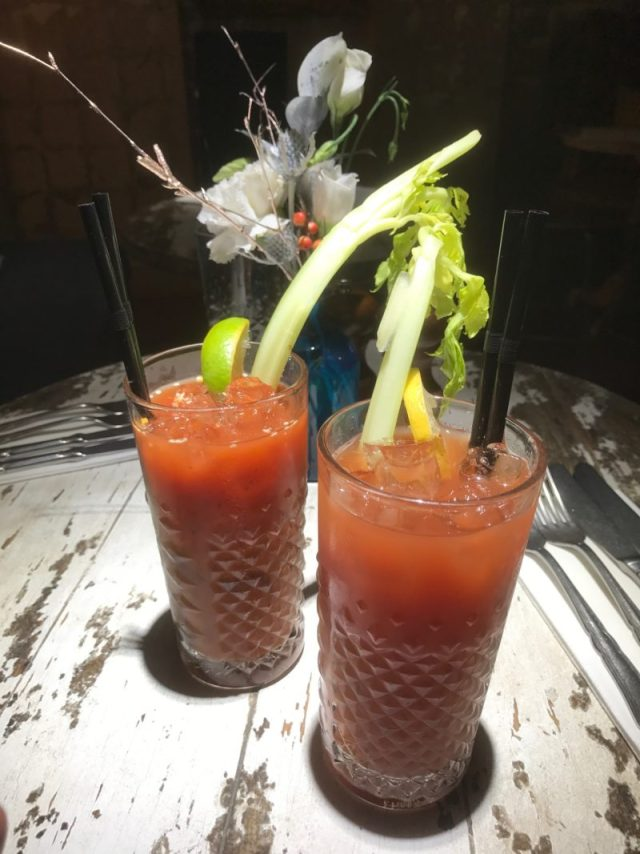 Bloody Marys at Mill Street Pub & Kitchen, Oakham