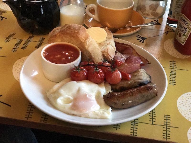 Breakfast at The Ship Inn, Rye