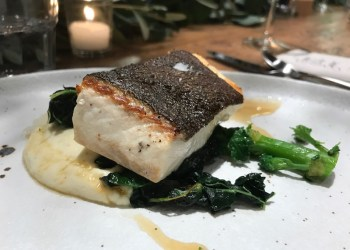 Halibut at The Tuning Fork, Houlton, Rugby
