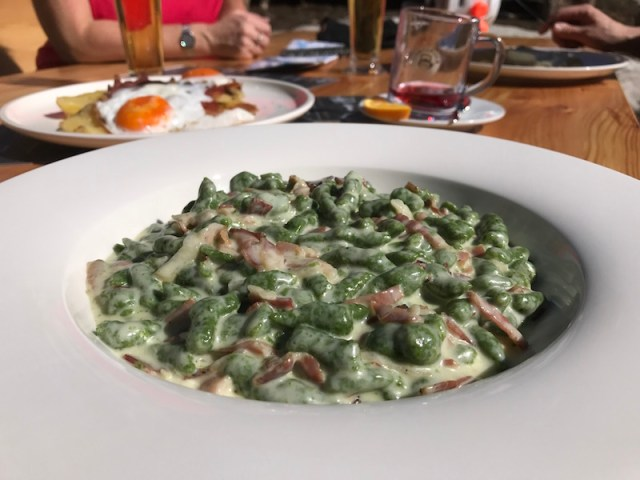 Food in Selva, Italy