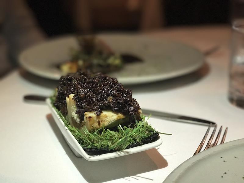 Bone marrow at Restaurant 23, Leamington Spa