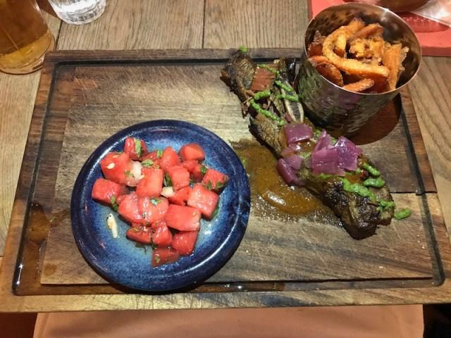 Beef ribs at Turtle Bay, Leamington Spa