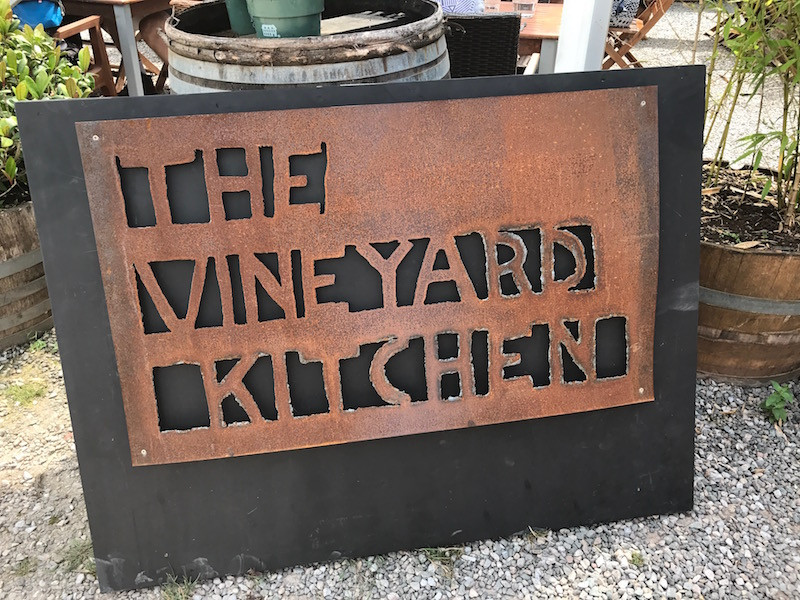 Vineyard Kitchen, Sharpham Estate, Devon