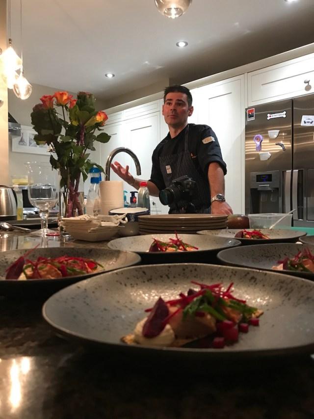 Private cheffing with La Belle Assiette