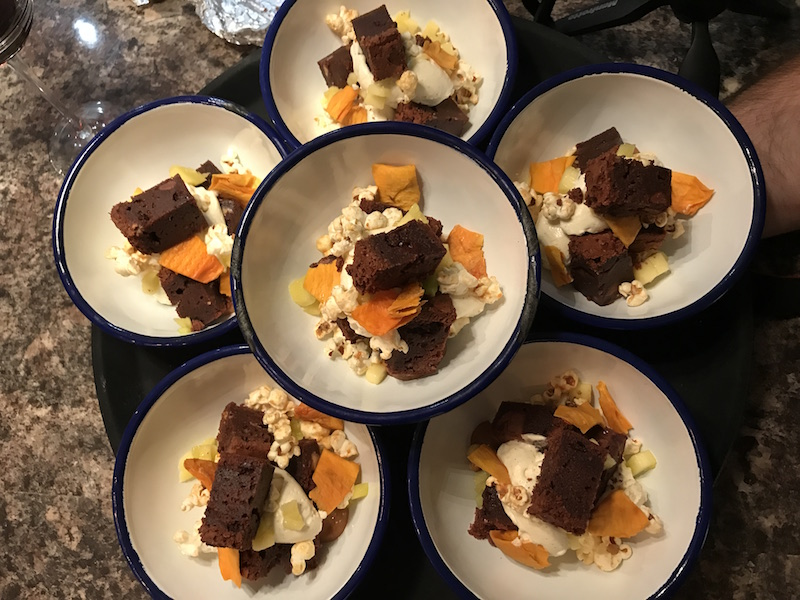 Desserts with Stuart Brown and La Belle Assiette