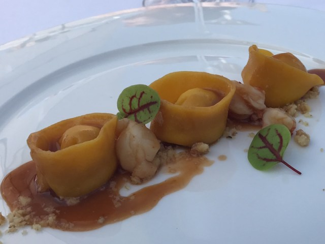 Tortelli at La Speranzina, Sirmione, Lake Garda