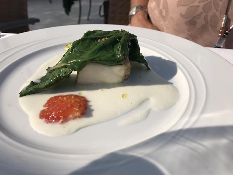 Morone fish at La Speranzina, Sirmione, Lake Garda