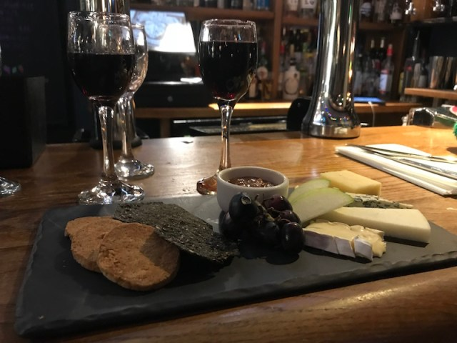 Cheese board at The Old Bridge Inn, Aviemore