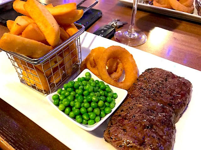 Steak at The Strickland Arms, Penrith