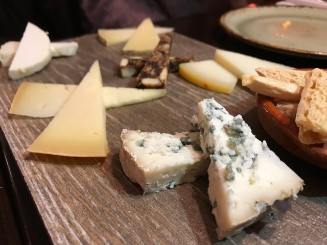 Cheese plate at El Borracho de Oro, Birmingham
