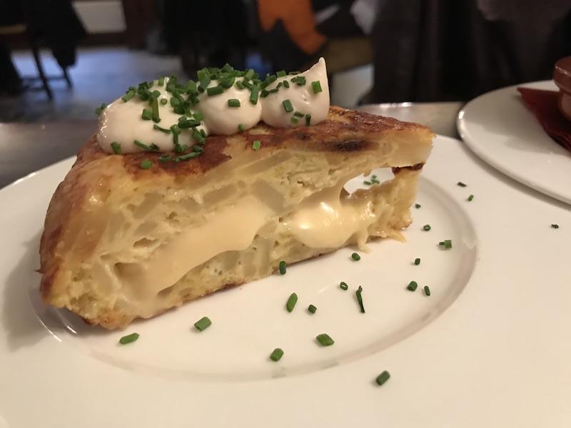 Tortilla at El Borracho de Oro, Birmingham