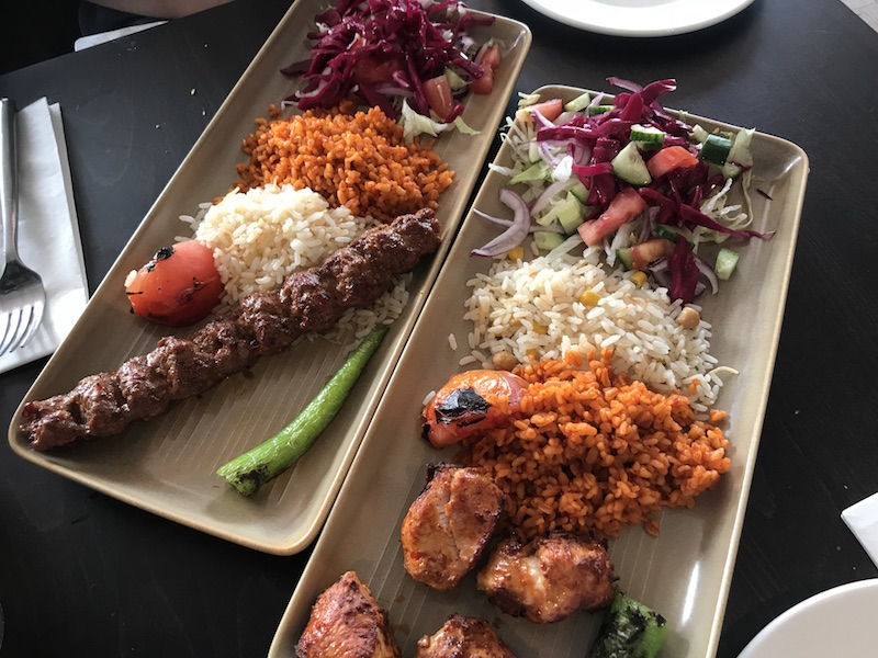 Set lunch at Cappadocia, Birmingham