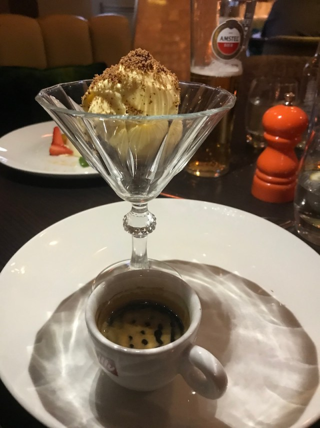 Affogato at Queen's Road, Coventry