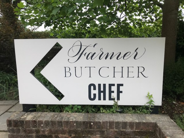 Farmer, Butcher, Chef at Goodwood