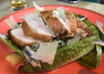 Caesar salad at House, Leamington