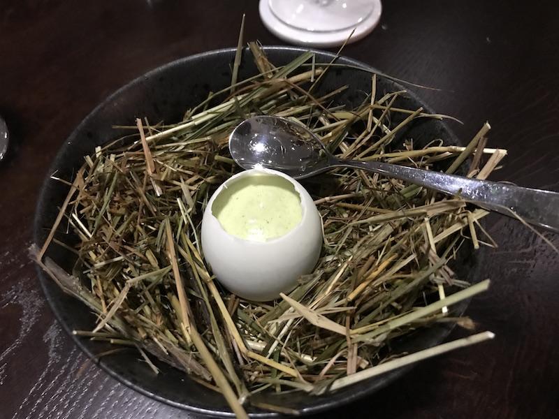 Duck egg at Maribel