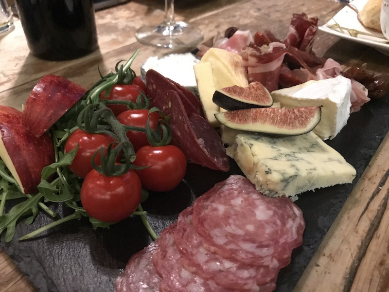 Sharing platters at Inside the 22