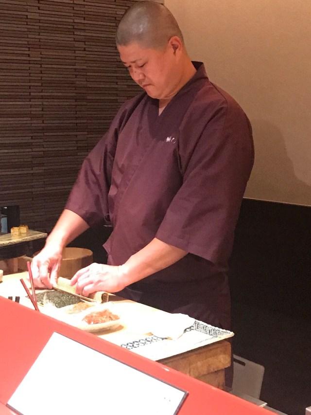 Sushi in Ginza, Tokyo